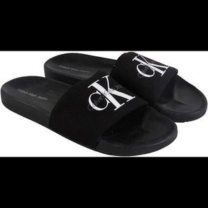 Calvin Klein viggo slides flip flop sandals shoes